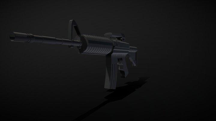 Weapon Model 3D Model