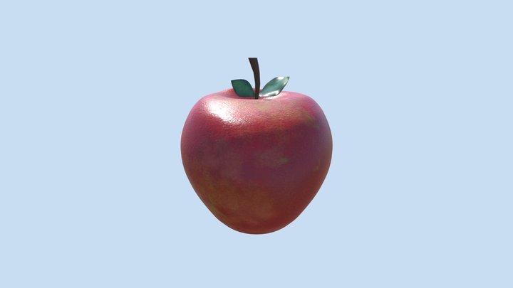 Assessment 2- Intro to Organic Modelling - Apple 3D Model