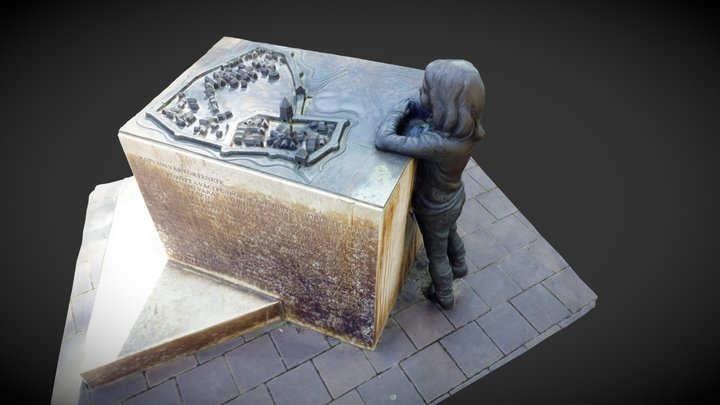 Középkori városmakett (Hatvan) 3D Model