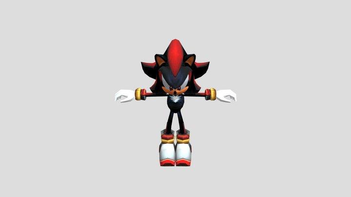 Shadow The Hedgehog (sa2) 3D Model
