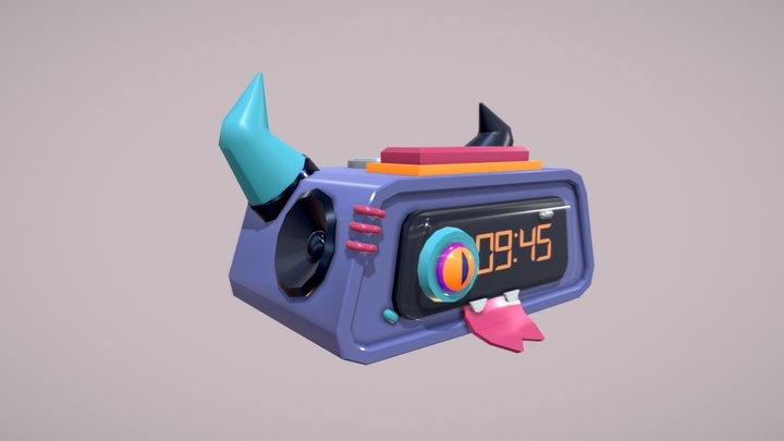 Daily_draft_clock 3D Model