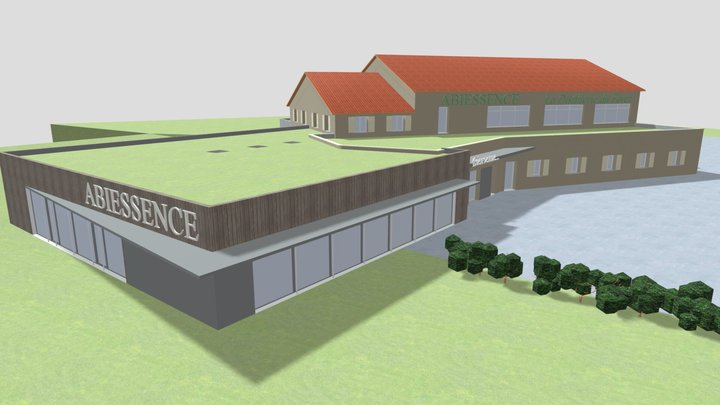 Extension Magasin Abiessence 3D Model