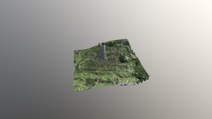 шахакгата реконструкция 3D Model