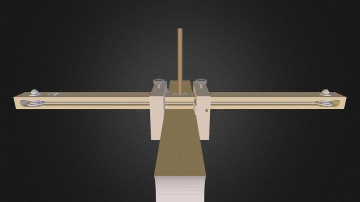 Trusquin auto centreur 3D Model