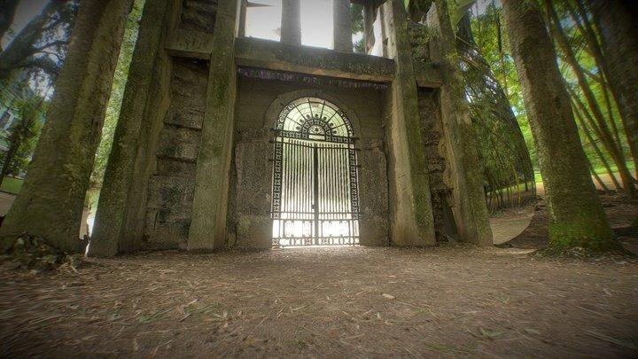 Jardim Botanico - Portal of Fine Arts Academy 3D Model