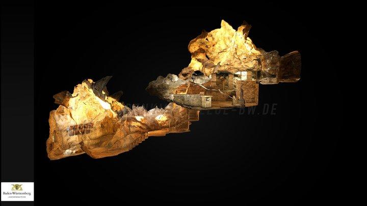 cave | Höhle Burghöhle Dietfurt 3D Model
