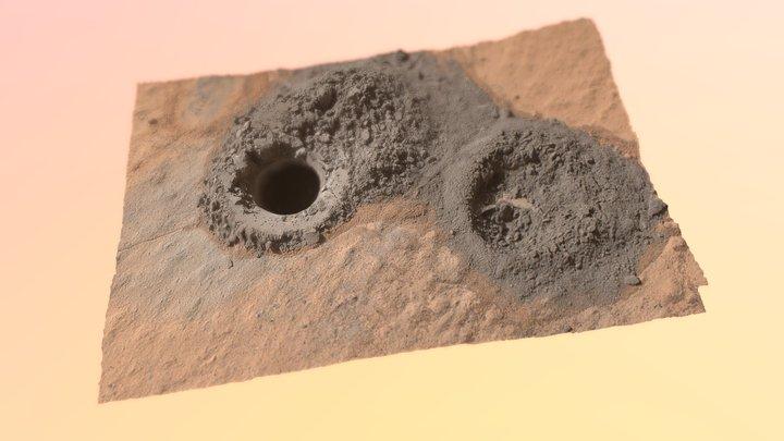 Windjana drill hole (Kimberley outcrop, Mars) 3D Model