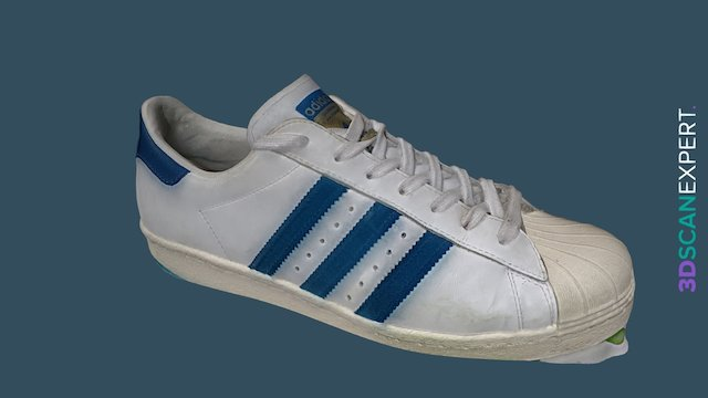 adidas Superstar 80s 3D Model