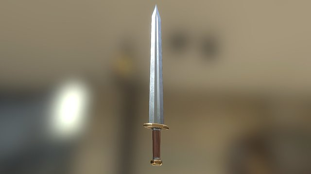 Human Sword 3D Model
