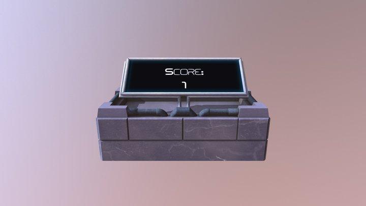 Score Screen - Staffordshire University 2017 3D Model