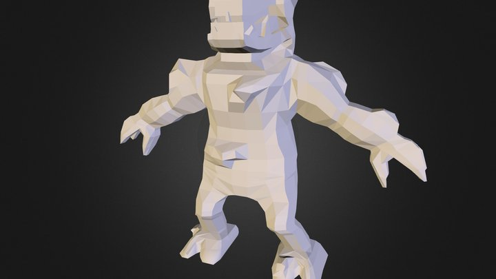 Stone Elemental 3D Model