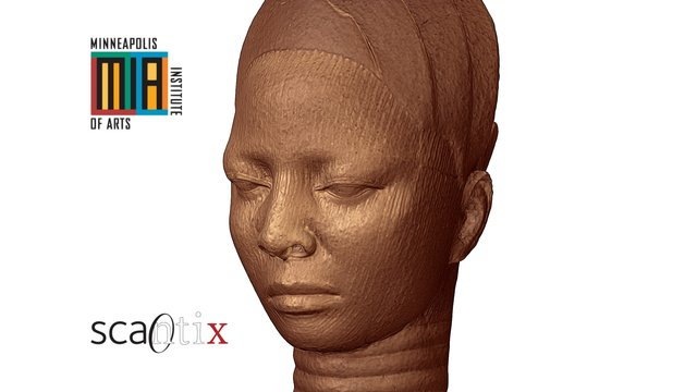 Ife terracotta head, Nigeria 3D Model