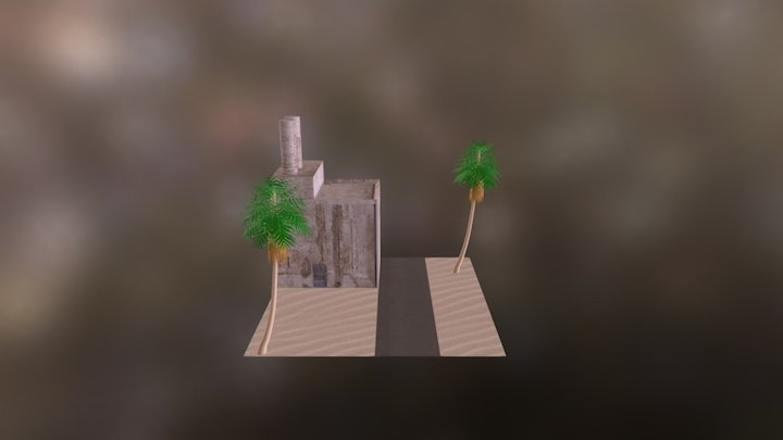 Factory Compound 3D Model