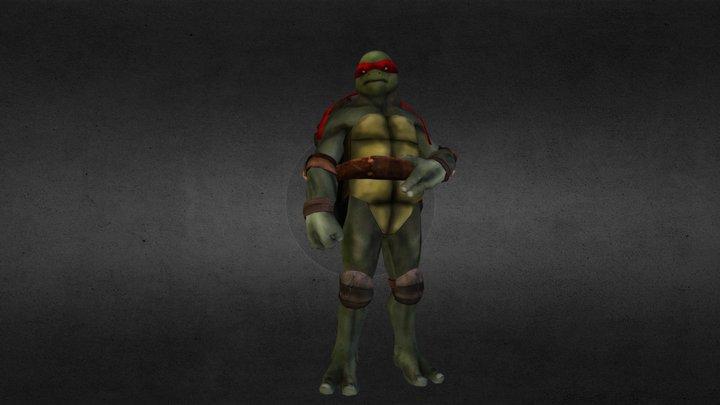 Raphael 3D Model