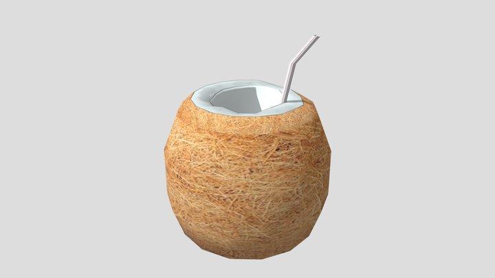 Coconut Drink 3D Model