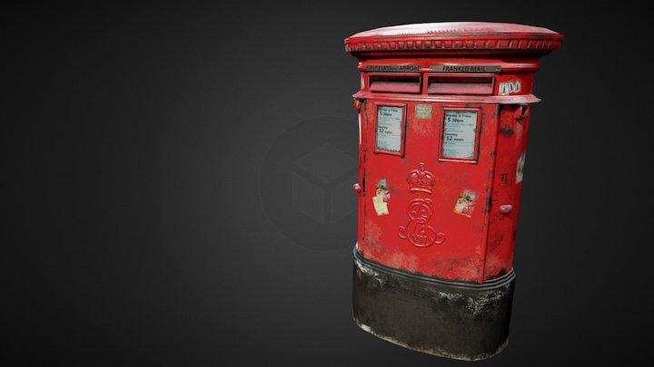Post Office UK 3D Model