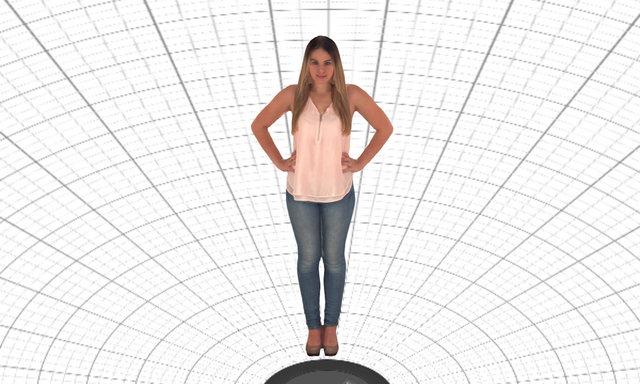 Kimberly 3D Model