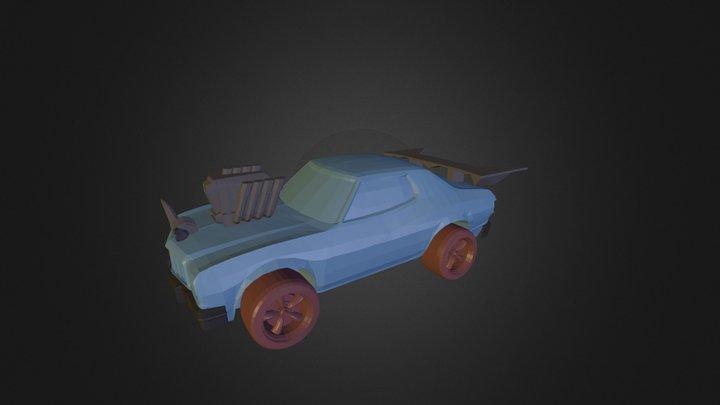 3DRacers - Muscle car 3D Model