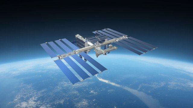 International Space Station 3D Model