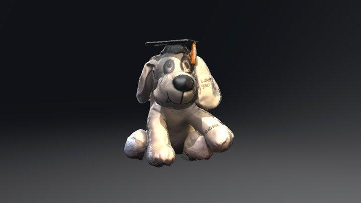 Graduation Doggo 3D Model