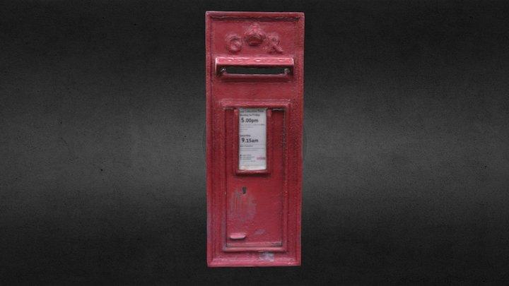 British Postbox 3D Model