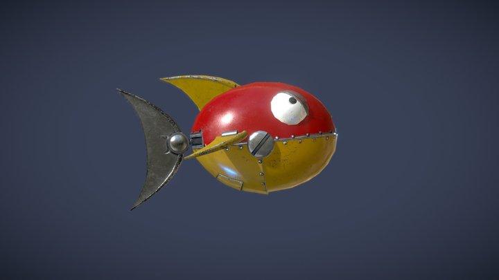 Chopper (Sonic the Hedgehog) 3D Model
