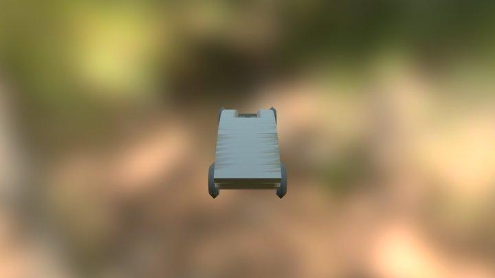 New Pinewood car 3D Model