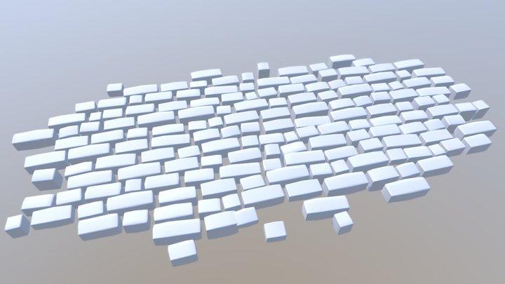 Simple Rocks 3D Model