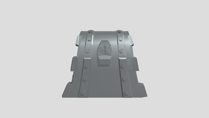 Stylized Treasure 3D Model