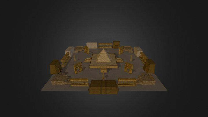 EgyptLevel 3D Model