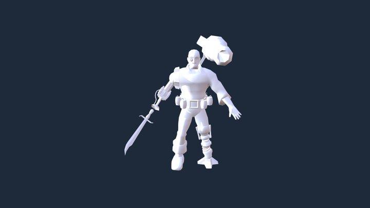 Bilgewater Bill 3D Model