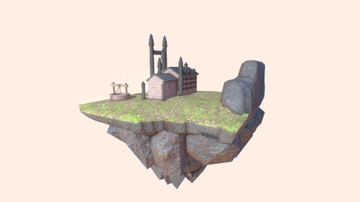Floating Land 3D Model