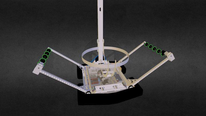 Windham Windup 3467: Wingman - 2014 Robot 3D Model