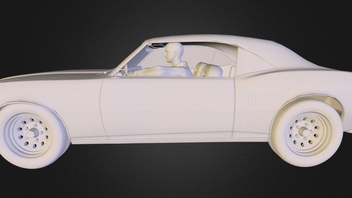 Bake Car Driver U D I M 3D Model