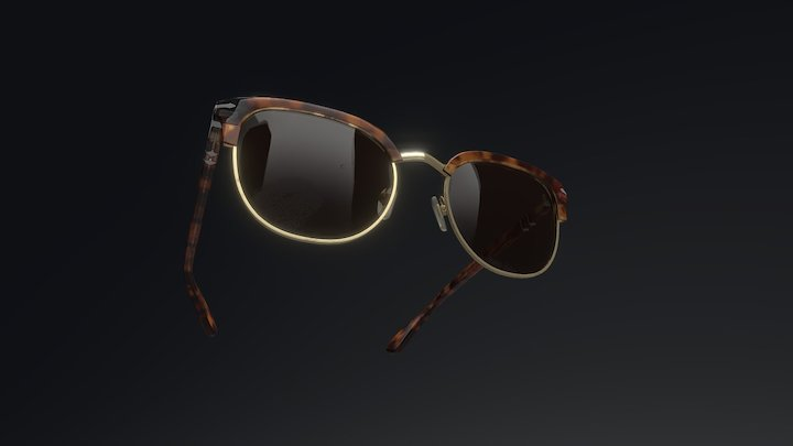 Persol Sunglasses PO3105S 3D Model