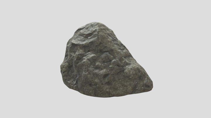 Rocky Cliff Alt 3D Model