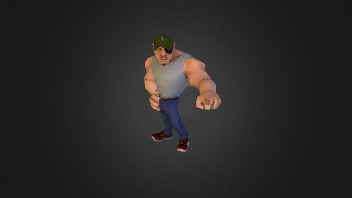 Brute character 3D Model