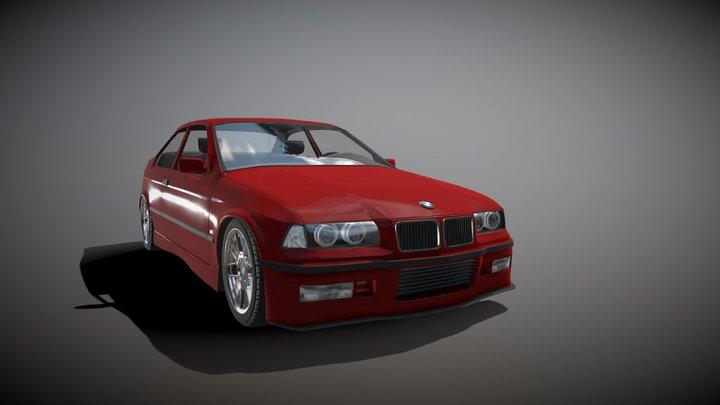 BMW E36 318ti 3D Model