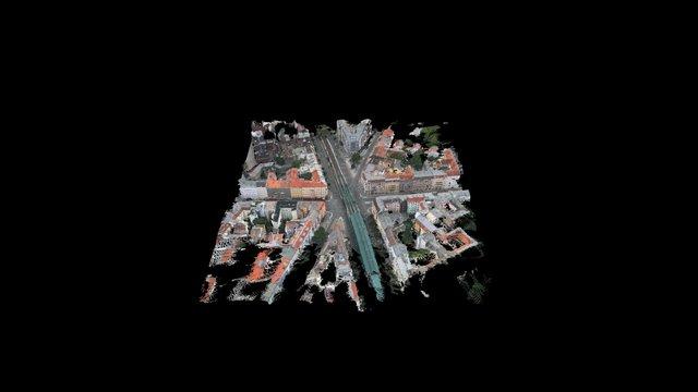 Reconstruction Berlin Eberswalde Str 3D Model
