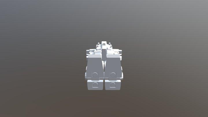 gundam unit3 3D Model