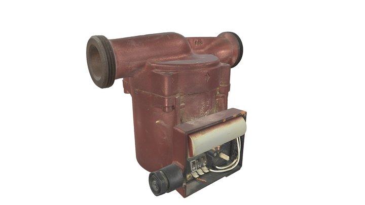 Pump Scan 3D Model