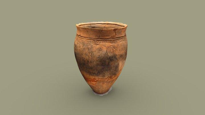 縄文中期「伊那谷から運び込まれた土器」 観察記録3Dモデル 3D Model