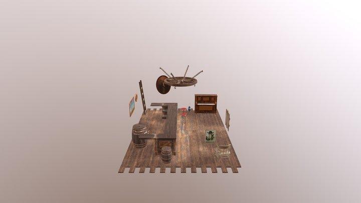 Bar del Oeste 3D Model