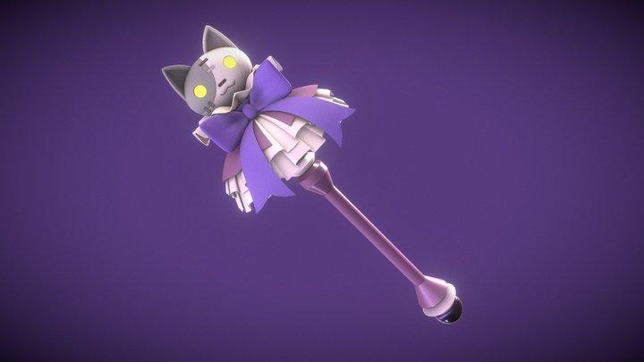 Disgaea Staff - Alice's Magic Wand 3D Model