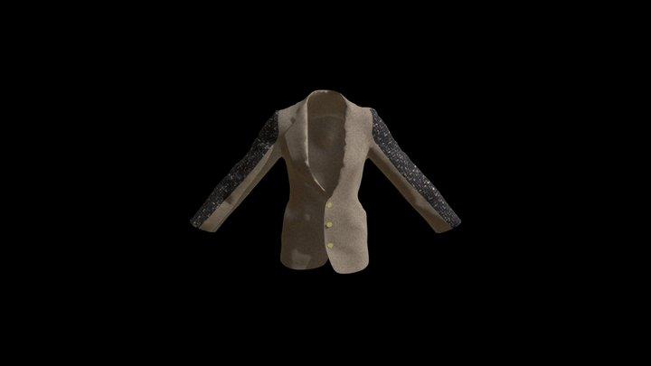Single Breasted Jacket 3D Model