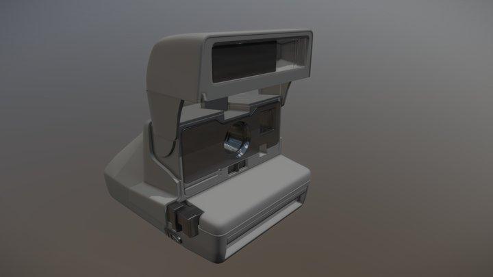 Polaroid 636 Close Up 3D Model
