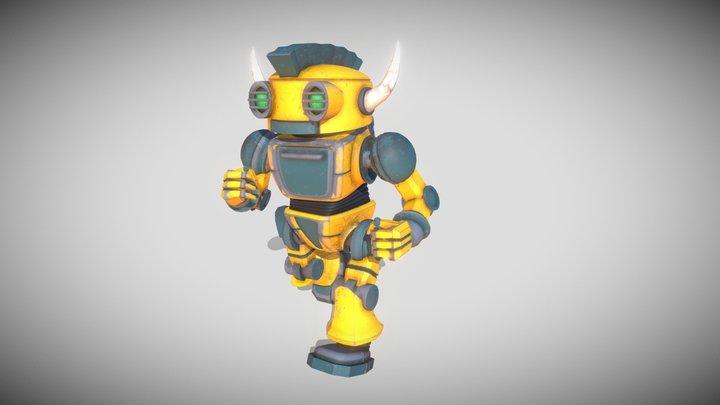 Robo Friend 3D Model