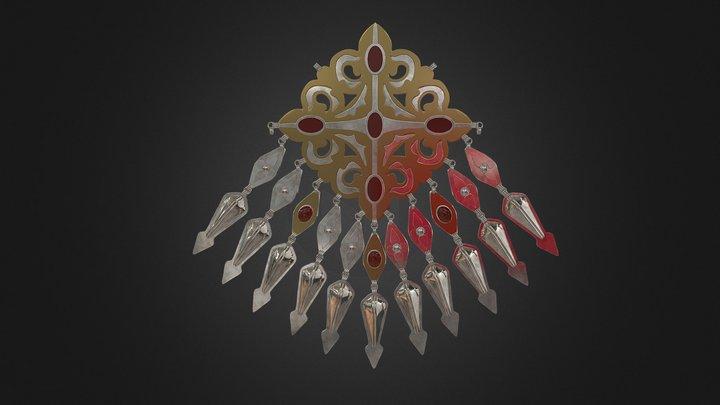 Turkmen Pendant 3D Model