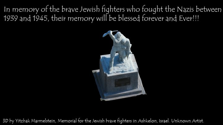 Memorial for the Jewish Soldiers in World War II 3D Model