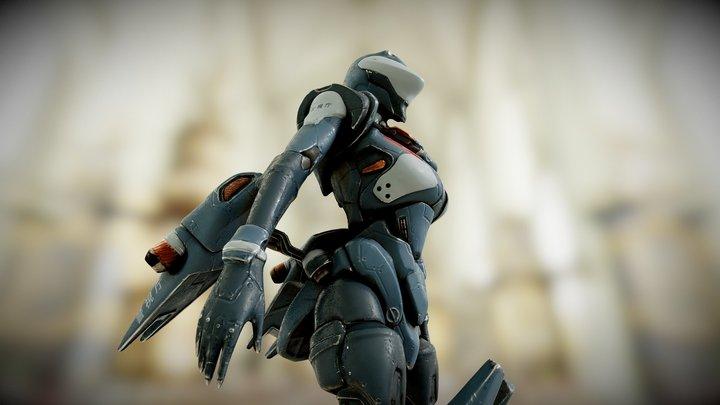 Powered Exoskeleton 3D Model